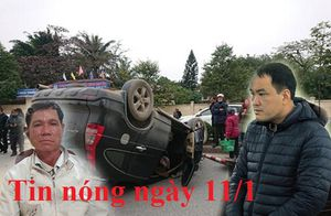 Tin nóng ngày 11/1: Xe chở rác tông chết bé trai 14 tuổi