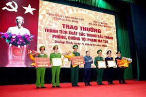Khen thưởng Ban chuyên án triệt phá thành công vụ vận chuyển 13kg ma túy