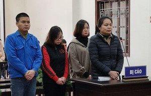 Nguyên cán bộ Thanh tra tỉnh Hòa Bình và đồng phạm hầu tòa