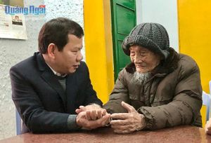 Chủ tịch UBND tỉnh Đặng Văn Minh thăm, chúc Tết nguyên lãnh đạo tỉnh qua các thời kỳ