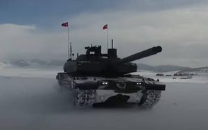 Thổ Nhĩ Kỳ trang bị động cơ nội địa cho xe tăng Altay