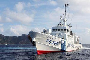 Nhật phản ứng gay gắt với tàu Trung Quốc xâm phạm lãnh hải