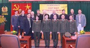 Gặp mặt cán bộ hưu trí Cục Hồ sơ nghiệp vụ nhân dịp Tết Nguyên đán