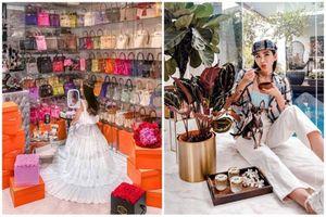 Lộ danh tính 'yêu nữ hàng hiệu' xinh đẹp, giàu có bậc nhất Singapore