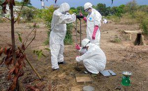 Loại bỏ hơn 1.100 m3 bùn đất nhiễm dioxin ở sân bay Biên Hòa