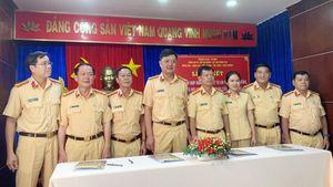 CSGT Công an 7 tỉnh, thành phố giáp ranh ký kết phối hợp đảm bảo TTATGT – TTXH