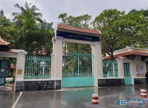 Trường cấp 3 Lê Quý Đôn báo cáo Sở về khoản thu lạ, dừng thu tiền 'Về đích'