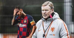Ronald Koeman cáu giận vì PSG chèo kéo Messi