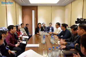 Họp đoàn đại biểu Đảng bộ tỉnh Quảng Ngãi dự đại hội XIII của Đảng