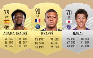 10 cầu thủ chạy nhanh nhất thế giới trong FIFA 21: Mbappe đứng thứ 2