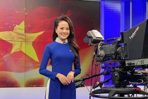 Nữ MC 9X xinh đẹp vừa lên sóng Thời sự 19h VTV