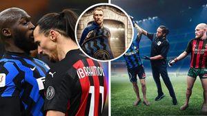 Ảnh chế: Derby thành Milan hóa trận đấu boxing, Ibra 'tội đồ' chơi thiết đầu công