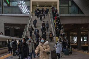 Người Trung Quốc bước vào đợt 'xuân vận'