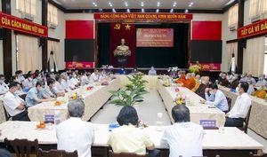 TP. Vũng Tàu: Họp mặt chức sắc tôn giáo Xuân Tân Sửu 2021