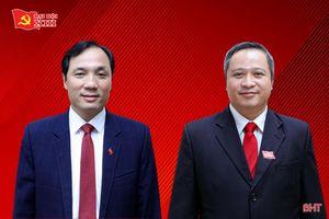 Bí thư Tỉnh ủy và Chủ tịch UBND tỉnh Hà Tĩnh được bầu là Ủy viên chính thức BCH Trung ương Đảng khóa XIII