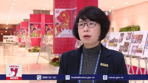 Lan tỏa dòng tin thông tấn về Đại hội Đảng toàn quốc lần thứ XIII