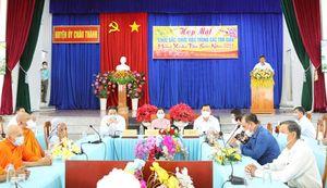 Châu Thành họp mặt chức sắc, chức việc mừng xuân Tân Sửu năm 2021