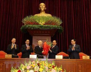 Đồng chí Nguyễn Phú Trọng tiếp tục được tín nhiệm bầu làm Tổng Bí thư
