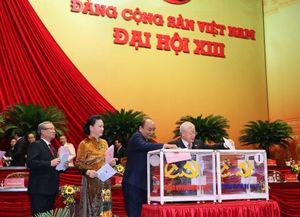 Danh sách 8 Ủy viên Bộ Chính trị khóa XII trúng cử BCH Trung ương khóa XIII