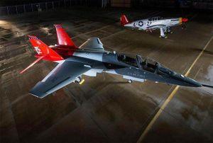 Mỹ âm thầm phát triển 'trường học trên không' cho phi công F-22