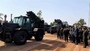 Lào tiếp nhận cầu dã chiến tối tân từ Nga