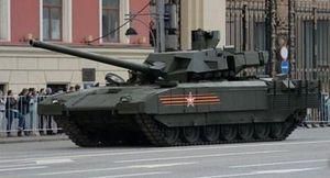 Xe tăng T-14 Armata bắt đầu được sản xuất hàng loạt