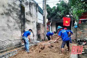 Tuổi trẻ Hậu Lộc xung kích, tình nguyện vì cuộc sống cộng đồng