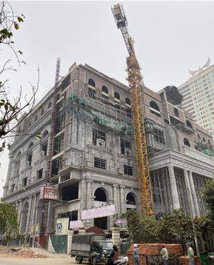 Phú Thọ: 1 người đã tử vong sau vụ sập giàn giáo công trình