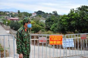 Nhiều khu dân cư ở Kinh Môn và TP Hải Dương phong tỏa 21 ngày