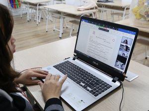 Ngày đầu học trực tuyến không còn bỡ ngỡ
