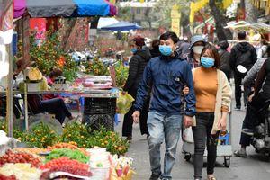 Chợ hoa Tết - điểm hẹn văn hóa ngày Tết của Hà Nội