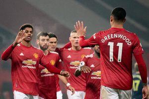 Đội hình tiêu biểu vòng 22 Premier League: Man Utd áp đảo