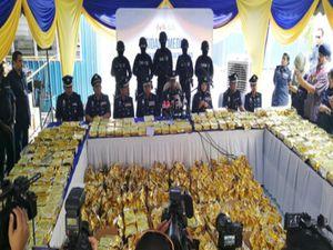 Thái Lan bắt trùm ma túy số hai châu Á