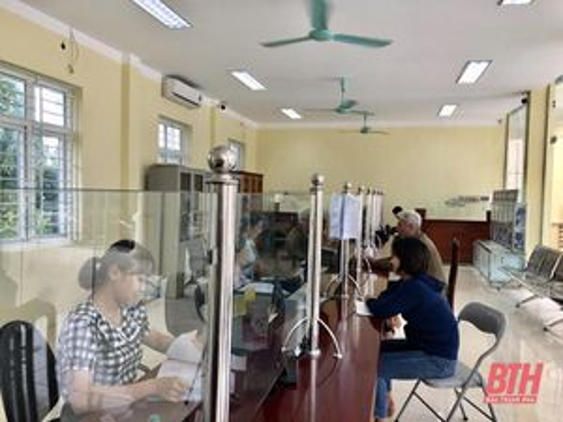 Huyện Nông Cống chú trọng công tác cải cách hành chính, hướng tới sự hài lòng của người dân