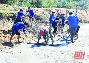 Xây dựng nông thôn mới ở bản Pù Toong
