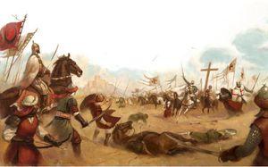 Quân cảm tử của vua hủi đánh bại 26.000 quân của Saladin thế nào?