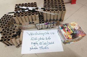 Xử lý nhiều trường hợp đốt pháo trái phép tại H.Nhơn Trạch dịp cận Tết