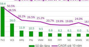 Phân tích cổ phiếu tăng trưởng nhất Việt Nam