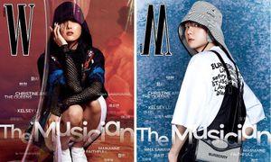 Tạp chí W Hàn tung bìa số tháng 3, Baekhyun (EXO) thì rõ rồi nhưng idol nữ mới thực sự là ẩn số
