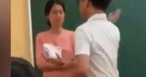Nam sinh tát cô giáo ngay trong lớp học: Nguyên nhân xuất phát từ đâu?