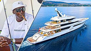 Siêu du thuyền 80 triệu USD của Michael Jordan