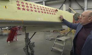 Vì sao 'quái thú' UAV Orion Nga mang 38 ngôi sao đỏ trên thân?