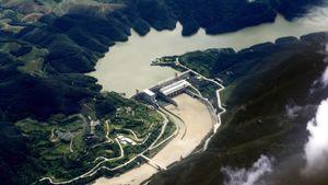 Trung Quốc đóng cửa đập, làm giảm mực nước sông Mekong