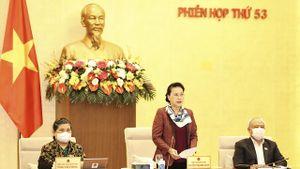 Chủ tịch Quốc hội: 'Tôi ấn tượng với sự điều hành của Thủ tướng và thành viên Chính phủ'