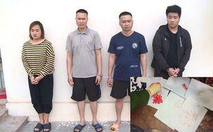 Đột kích bắt 6 chị em trong một gia đình điều hành tụ điểm ma túy