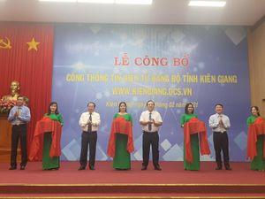 Cổng thông tin điện tử Kiên Giang chính thức hoạt động