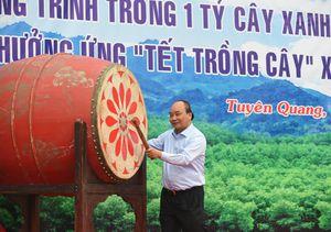 'Vì một Việt Nam xanh' thông điệp chính của Chương trình 1 tỷ cây xanh