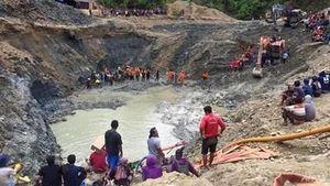 Indonesia: Lở đất ở mỏ vàng khiến nhiều người chết và mất tích