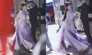 Ngu Thư Hân lộ tạo hình Hoa Lan Nhỏ trong 'Thương Lan Quyết', được khen như tiểu tiên nữ bước ra từ truyện