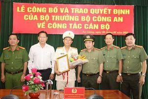 Công an tỉnh An Giang có thêm 1 Phó Giám đốc